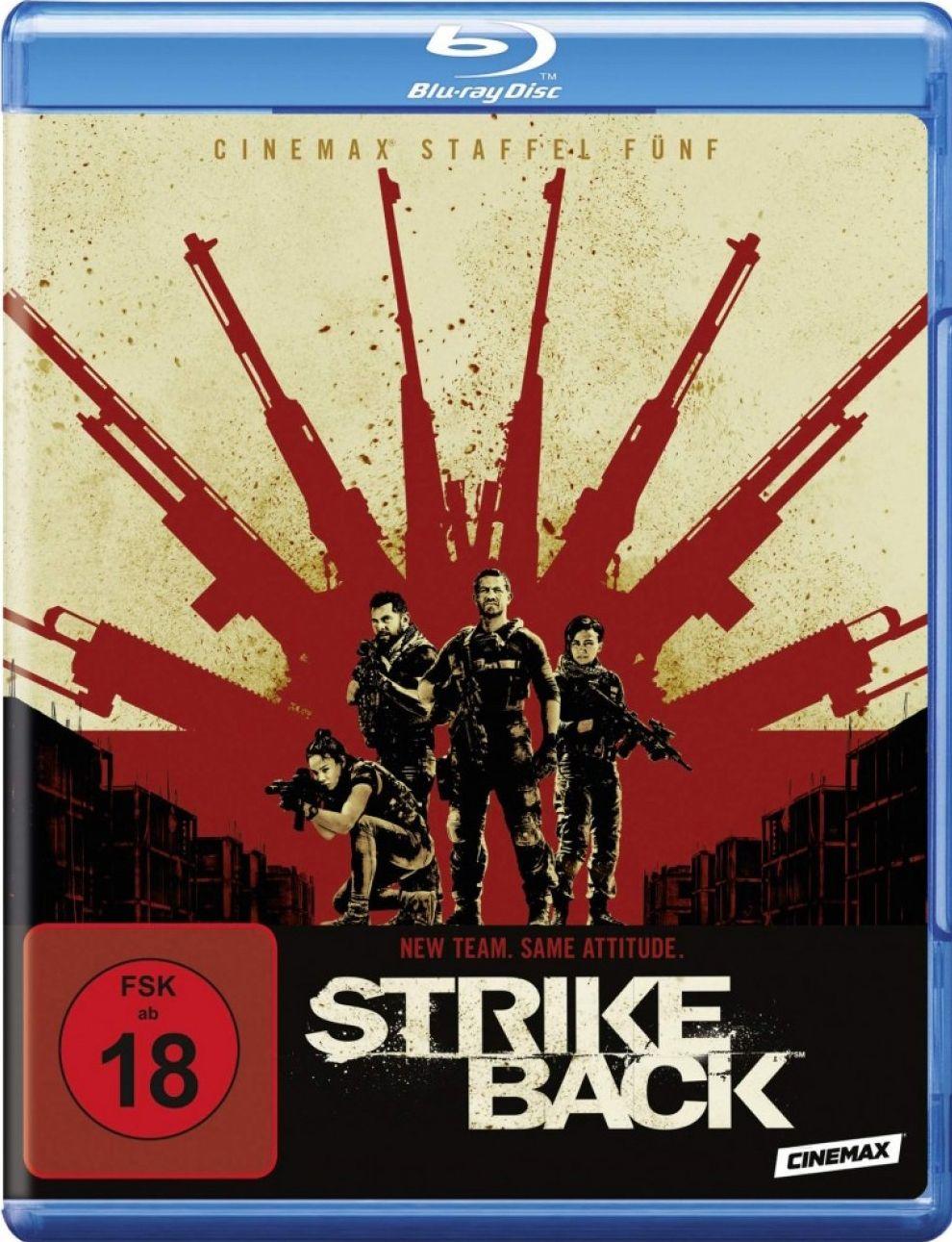 Strike Back - Die komplette fünfte Staffel (3 Discs) (BLURAY)