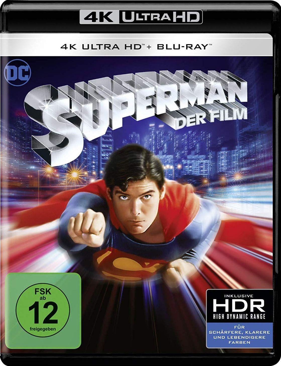 Superman - Der Film (1978) (2 Discs) (UHD BLURAY + BLURAY)