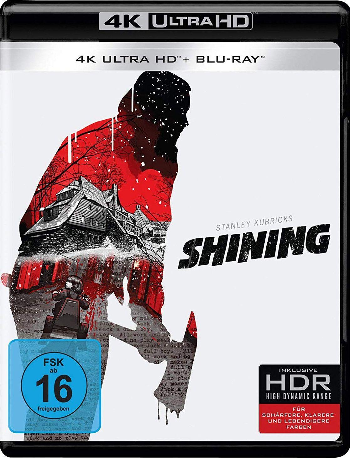 Shining (1980) (2 Discs) (UHD BLURAY + BLURAY)