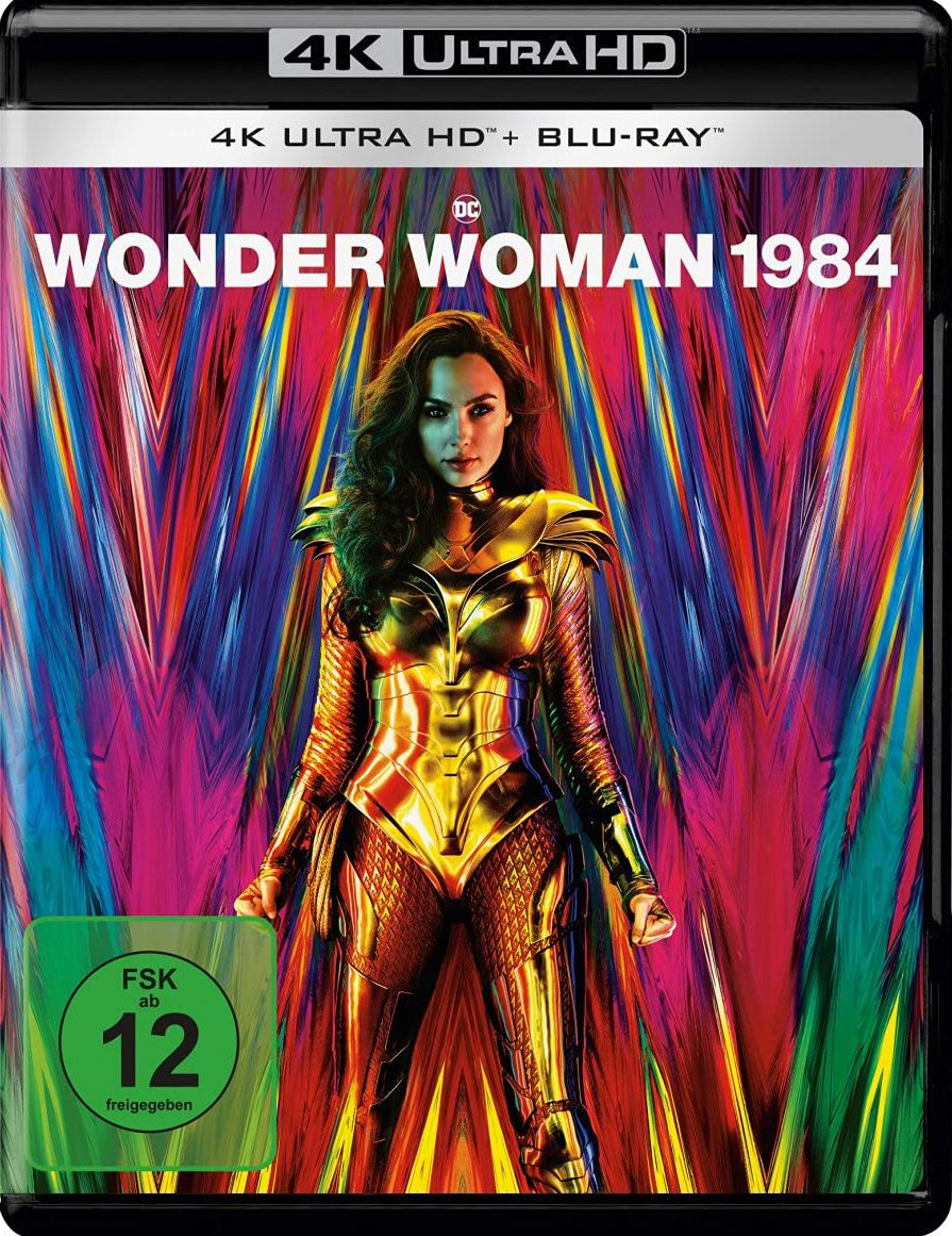 Wonder Woman 1984 (2 Discs) (UHD BLURAY + BLURAY)