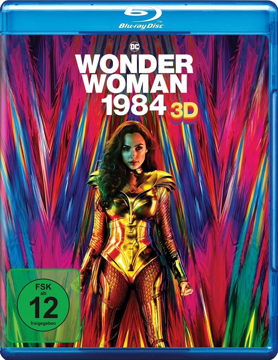 Wonder Woman 1984 (2 Discs) (BLURAY 3D + BLURAY)