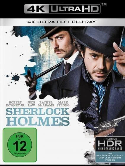 Sherlock Holmes (2009) (2 Discs) (UHD BLURAY + BLURAY)