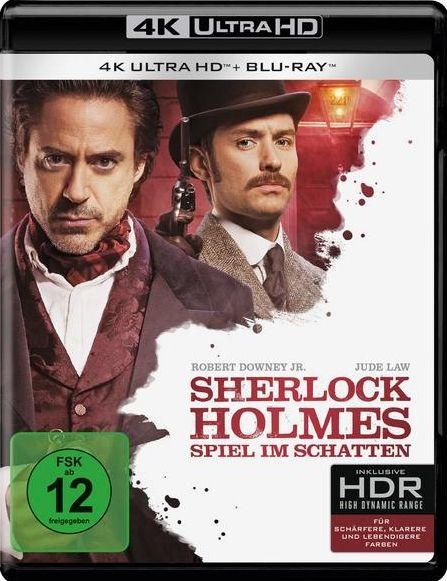 Sherlock Holmes - Spiel im Schatten (2 Discs) (UHD BLURAY + BLURAY)