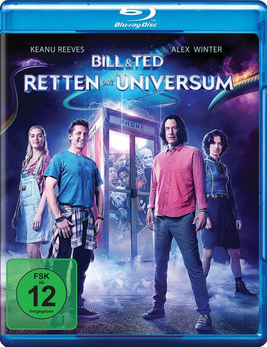 Bill & Ted retten das Universum (BLURAY)