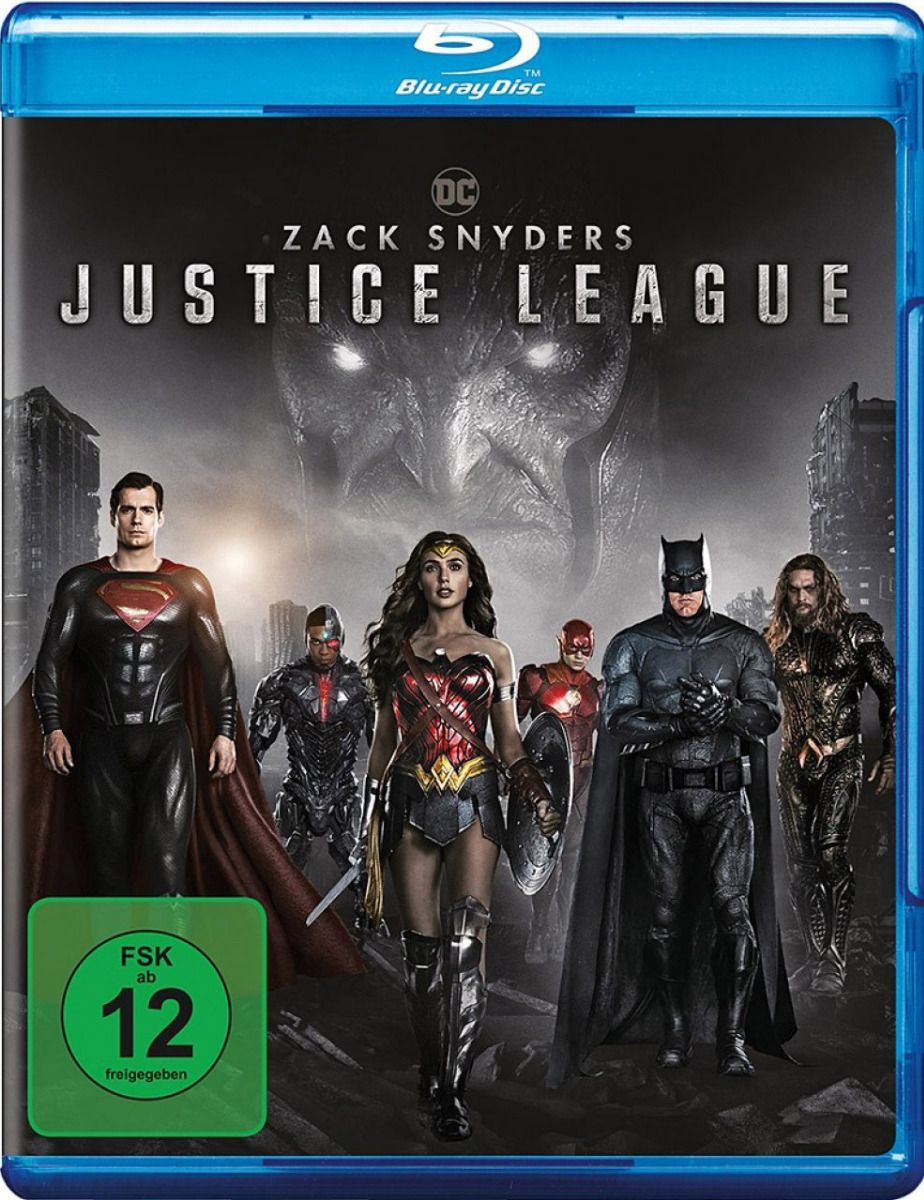 Zack Snyder's Justice League (BLURAY)