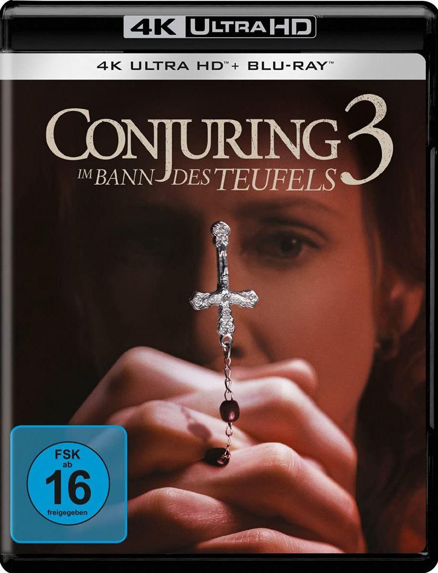 Conjuring 3 - Im Bann des Teufels (2 Discs) (UHD BLURAY + BLURAY)