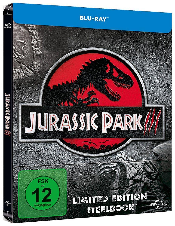 Jurassic Park 3 (Lim. Steelbook) (BLURAY)