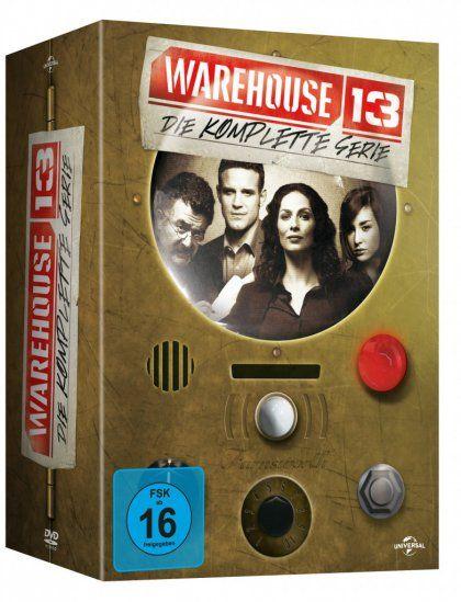 Warehouse 13 - Die komplette Serie (16 Discs)