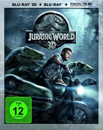 Jurassic World 3D (2 Discs) (BLURAY + BLURAY 3D)