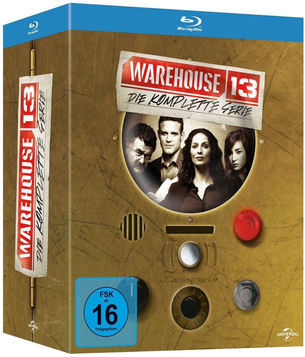 Warehouse 13 - Die komplette Serie (16 Discs) (BLURAY)