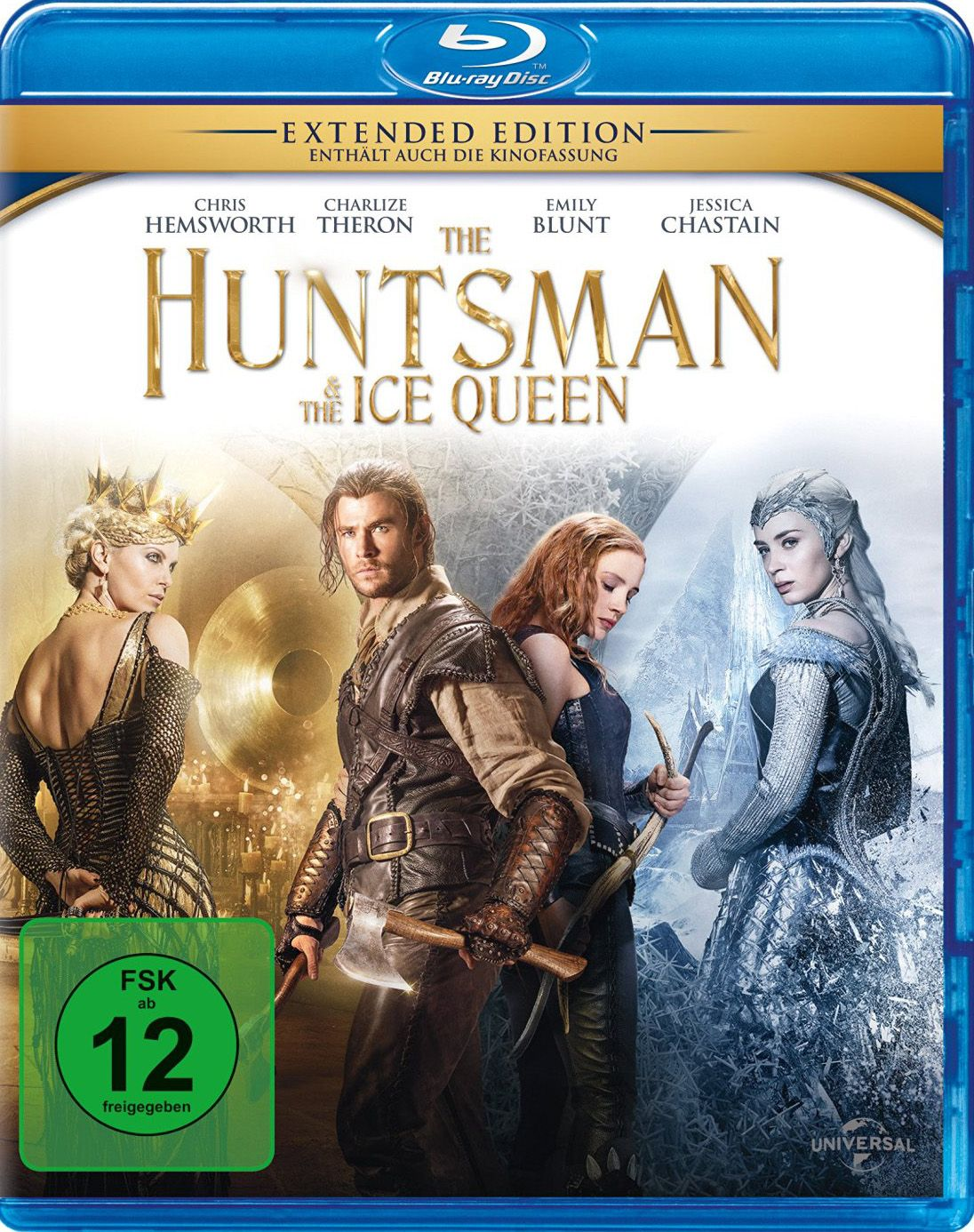 Huntsman & the Ice Queen, The (Kinofassung & Extended Version) (BLURAY)