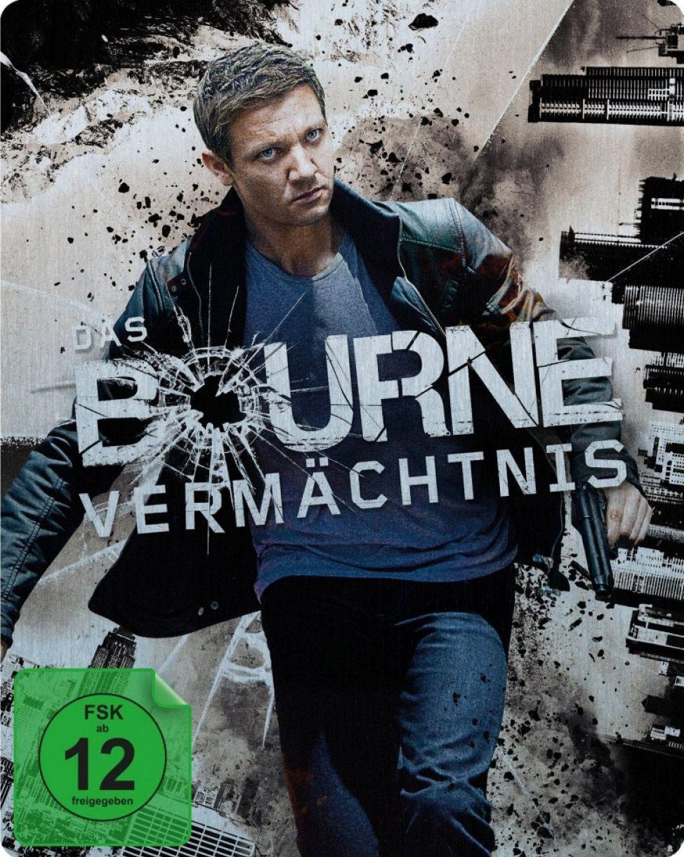 Bourne Vermächtnis, Das (Lim. Steelbook) (Neuauflage) (BLURAY)