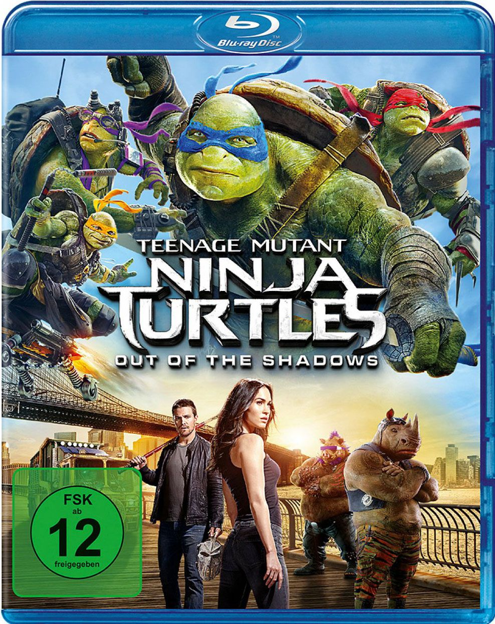 Teenage Mutant Ninja Turtles - Out of the Shadows (BLURAY)