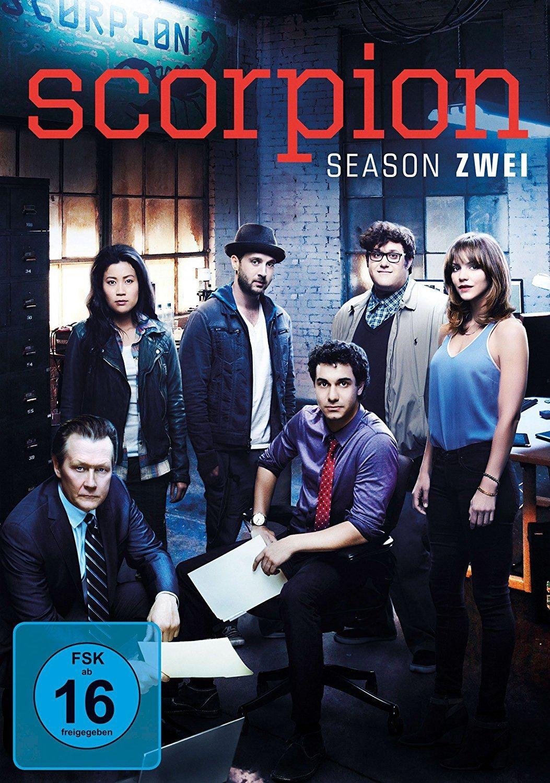 Scorpion - Staffel 2 (6 Discs)