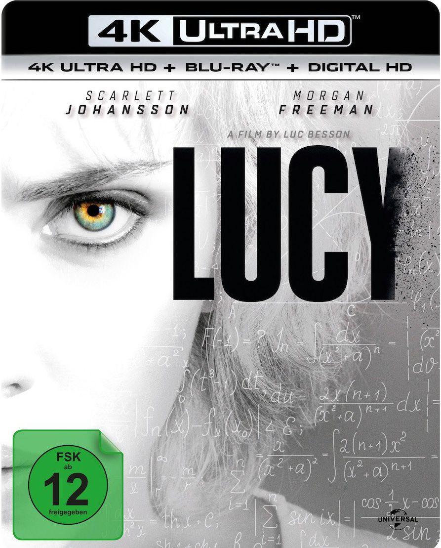 Lucy (2014) (2 Discs) (UHD BLURAY + BLURAY)
