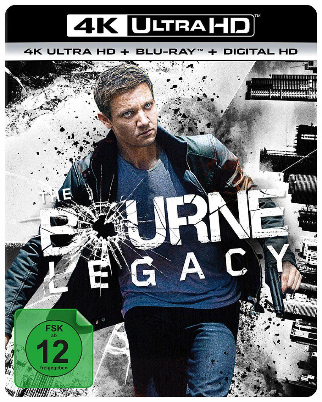 Bourne Vermächtnis, Das (2 Discs) (UHD BLURAY + BLURAY)