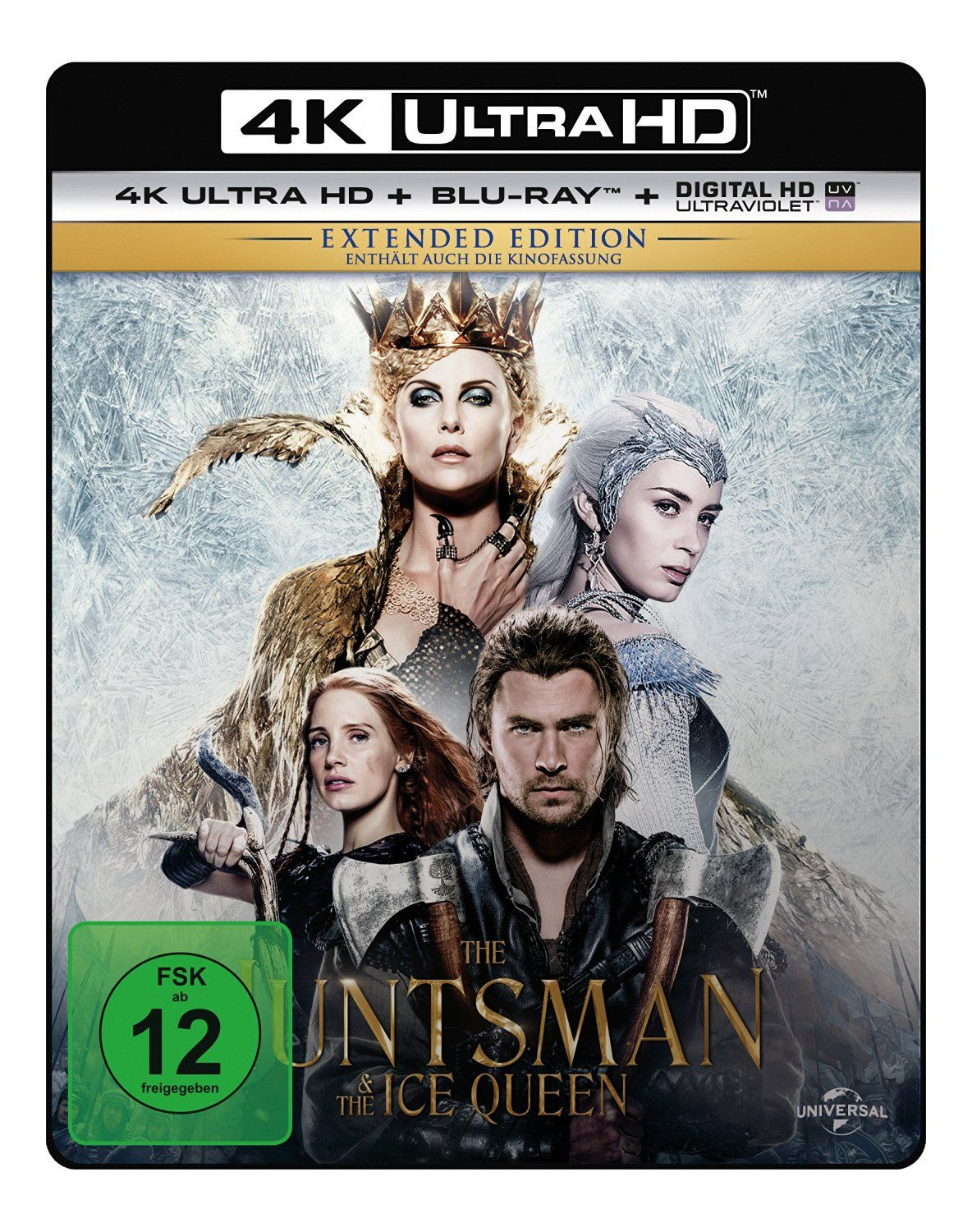 Huntsman & the Ice Queen, The (Kinofassung & Extended Version) (2 Discs) (UHD BLURAY + BLURAY)
