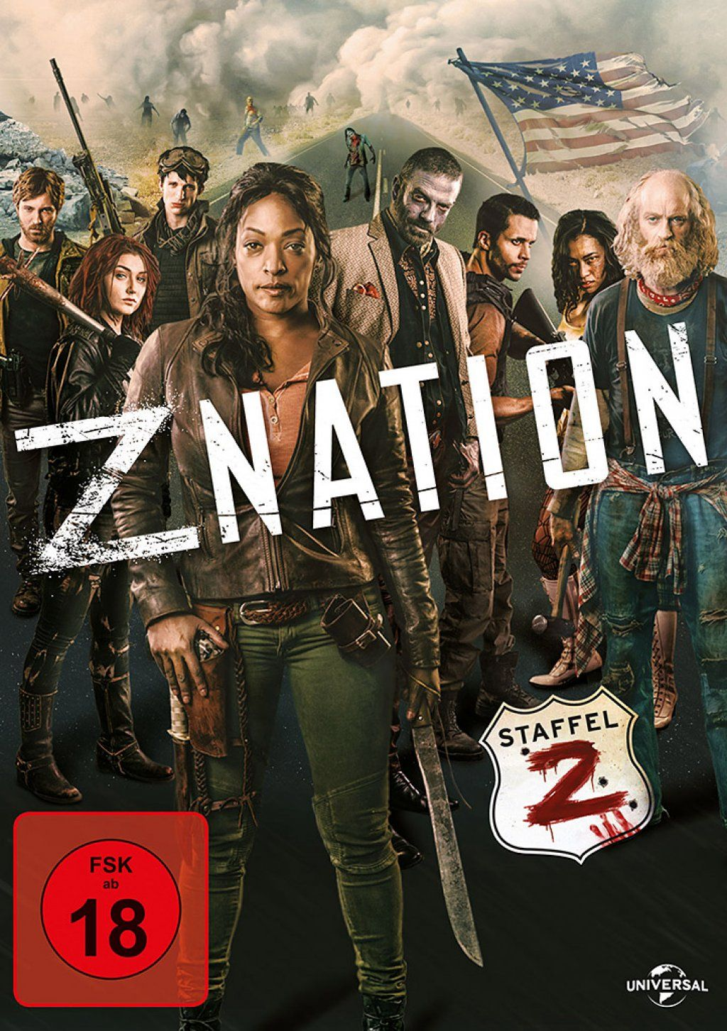 Z Nation - Staffel 2 (4 Discs)