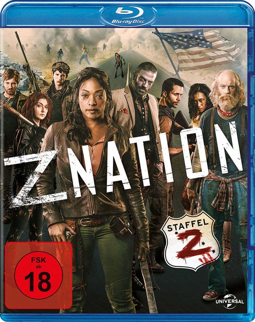 Z Nation - Staffel 2 (2 Discs) (BLURAY)