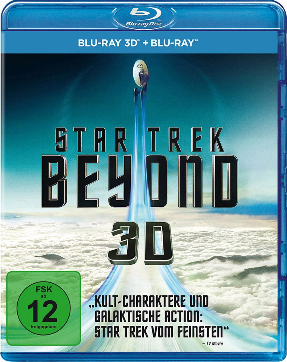 Star Trek - Beyond (2 Discs) (BLURAY 3D + BLURAY)