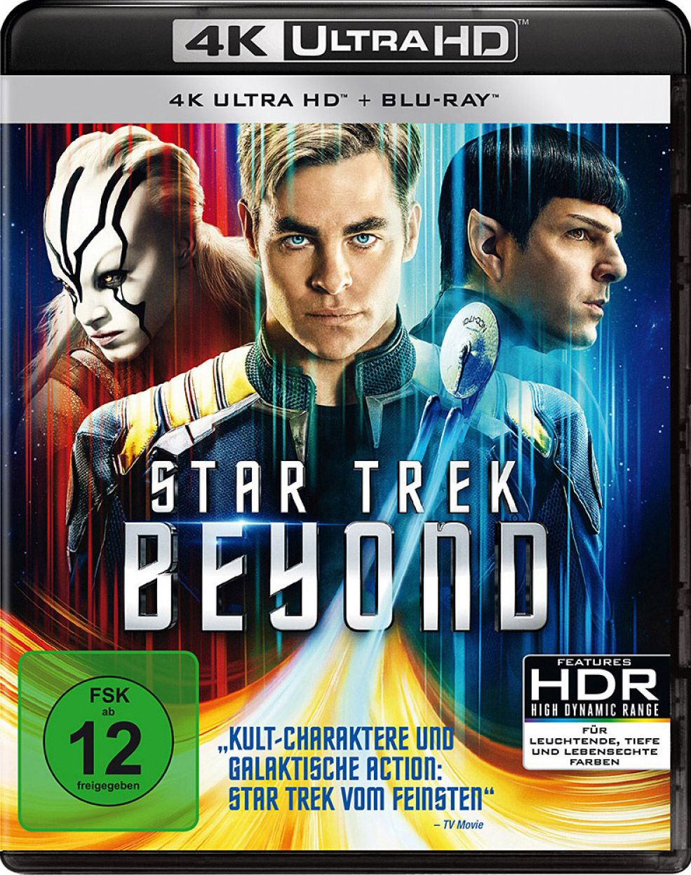 Star Trek - Beyond (2 Discs) (UHD BLURAY + BLURAY)