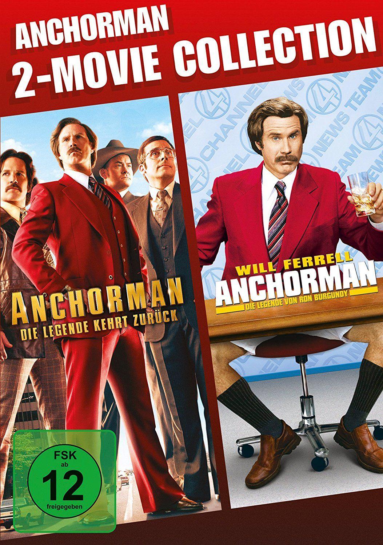 Anchorman 1 + 2 (Double Feature) (2 Discs)