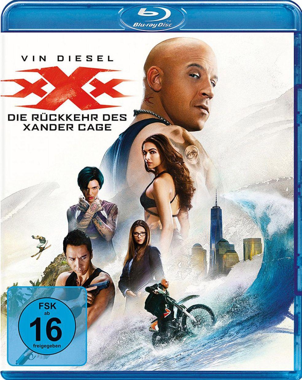 xXx - Die Rückkehr des Xander Cage (BLURAY)