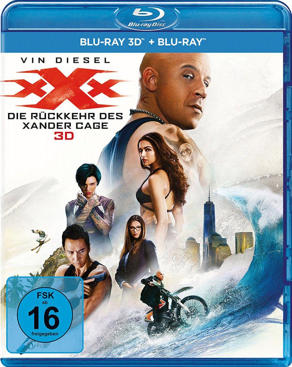 xXx - Die Rückkehr des Xander Cage (2 Discs) (BLURAY 3D + BLURAY)