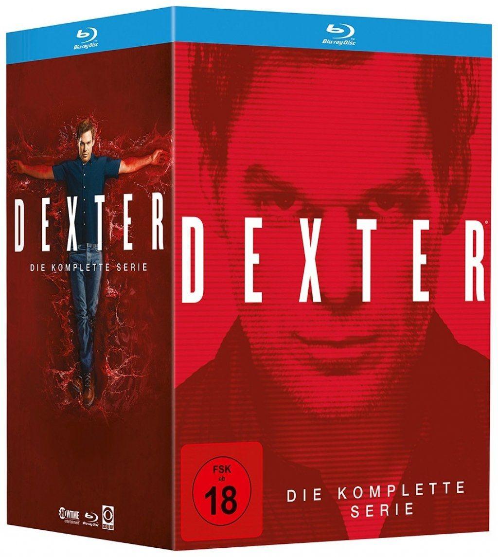 Dexter - Die komplette Serie (35 Discs) (BLURAY)