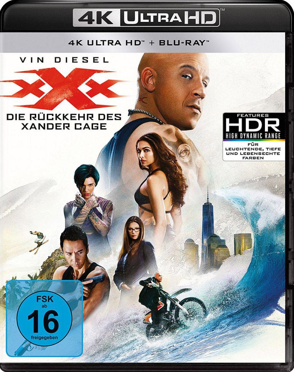 xXx - Die Rückkehr des Xander Cage (2 Discs) (UHD BLURAY + BLURAY)