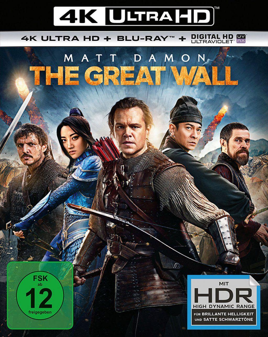 Great Wall, The (2 Discs) (UHD BLURAY + BLURAY)