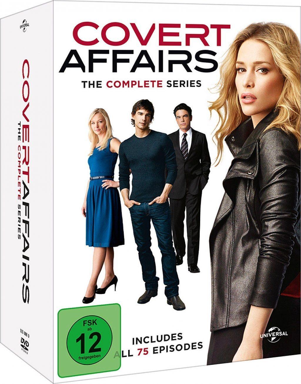 Covert Affairs - Die komplette Serie (20 Discs)