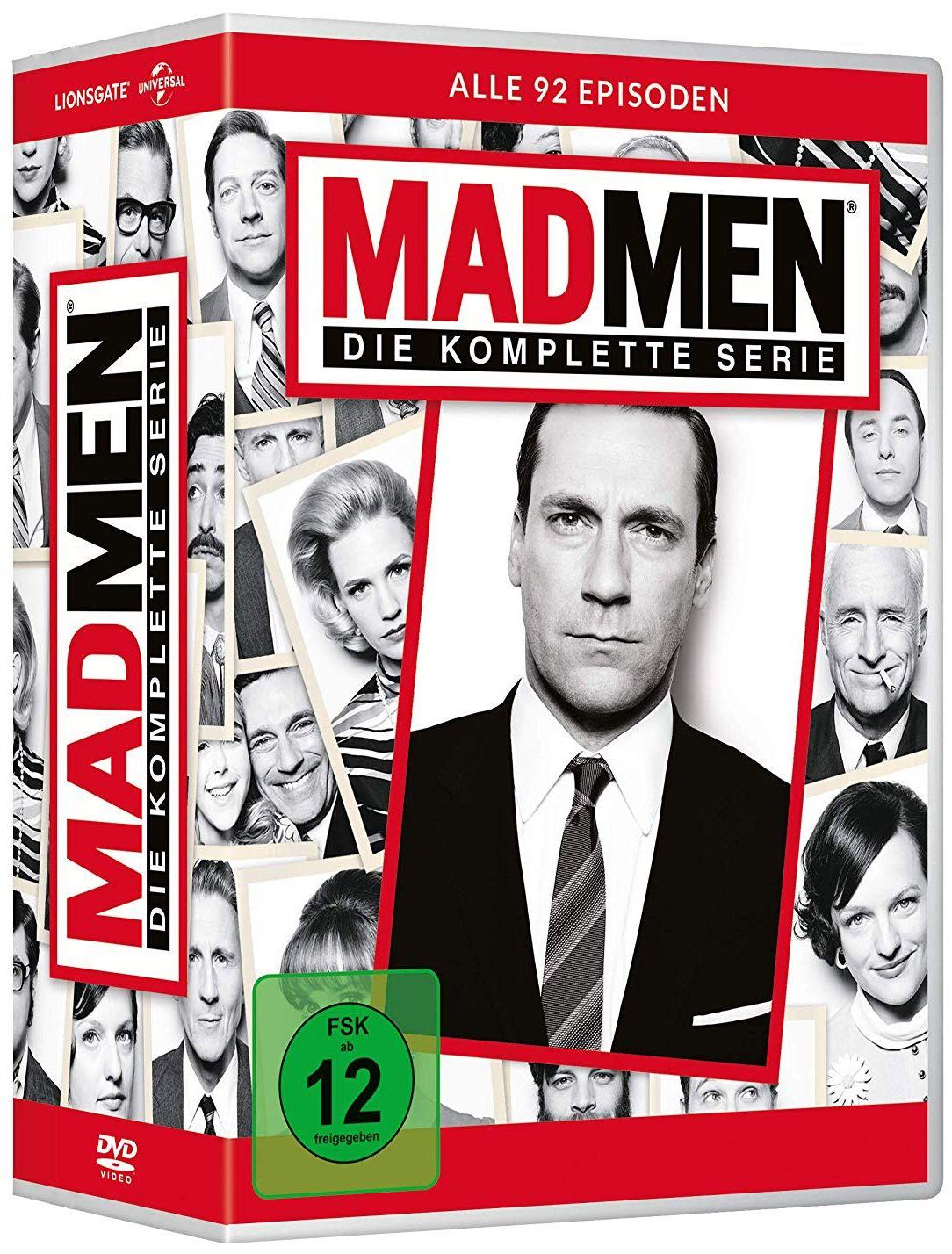 Mad Men - Die komplette Serie (Neuauflage) (30 Discs)