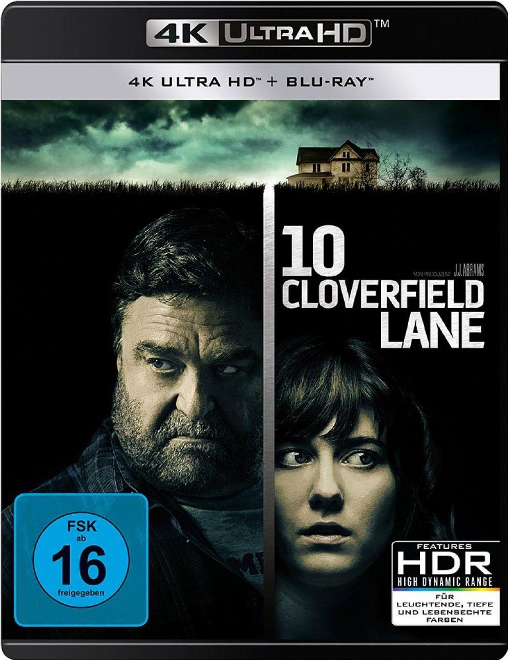 10 Cloverfield Lane (2 Discs) (UHD BLURAY + BLURAY)