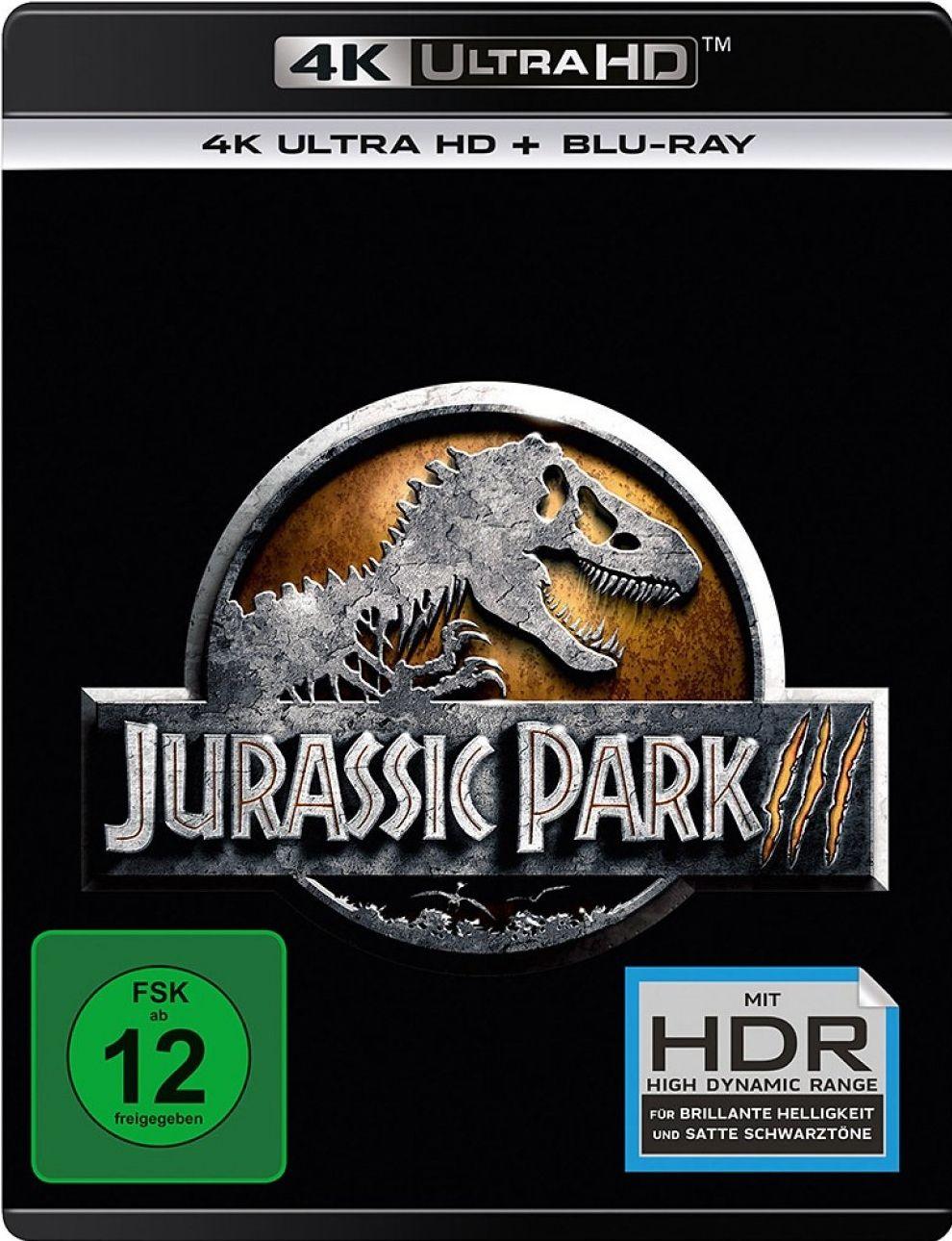 Jurassic Park 3 (2 Discs) (UHD BLURAY + BLURAY)