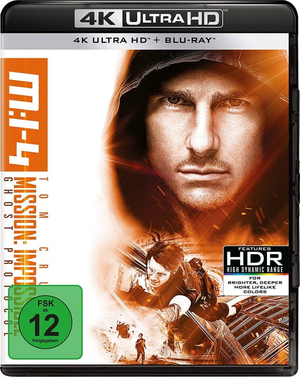 Mission: Impossible - Phantom Protokoll (2 Discs) (UHD BLURAY + BLURAY)