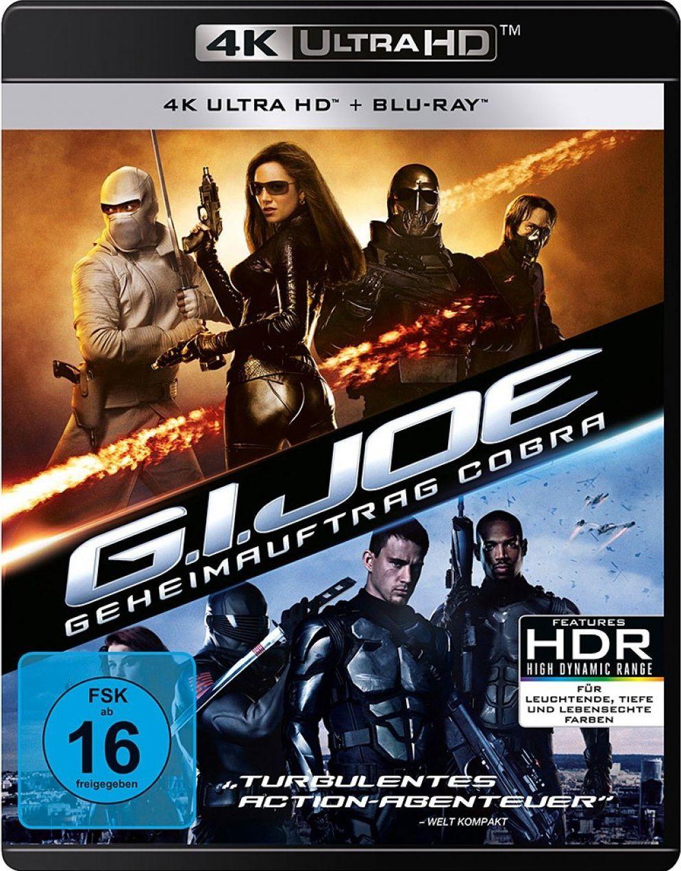G.I. Joe - Geheimauftrag Cobra (2 Discs) (UHD BLURAY + BLURAY)