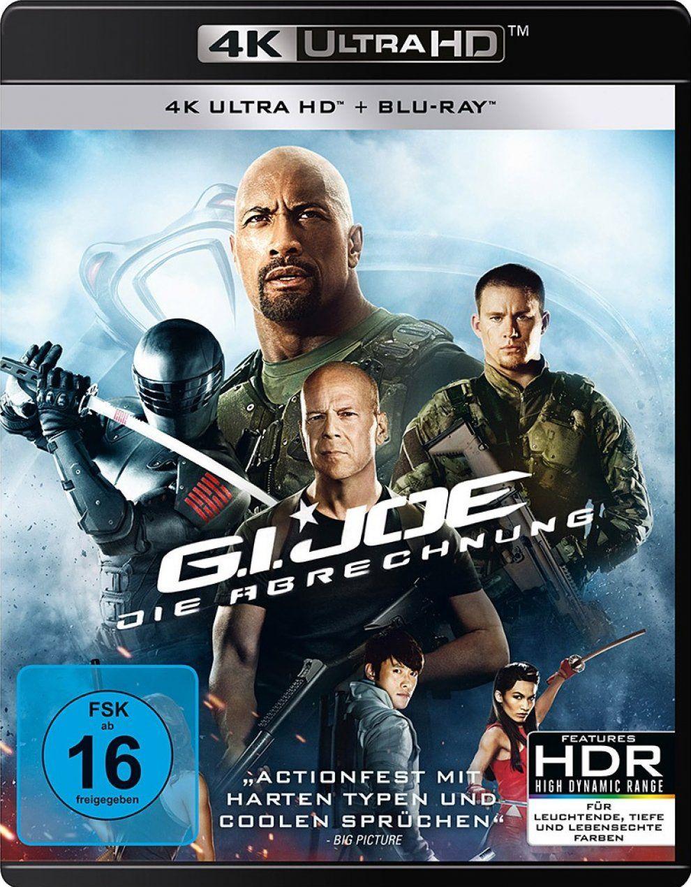 G.I. Joe - Die Abrechnung (Extended Cut) (2 Discs) (UHD BLURAY + BLURAY)