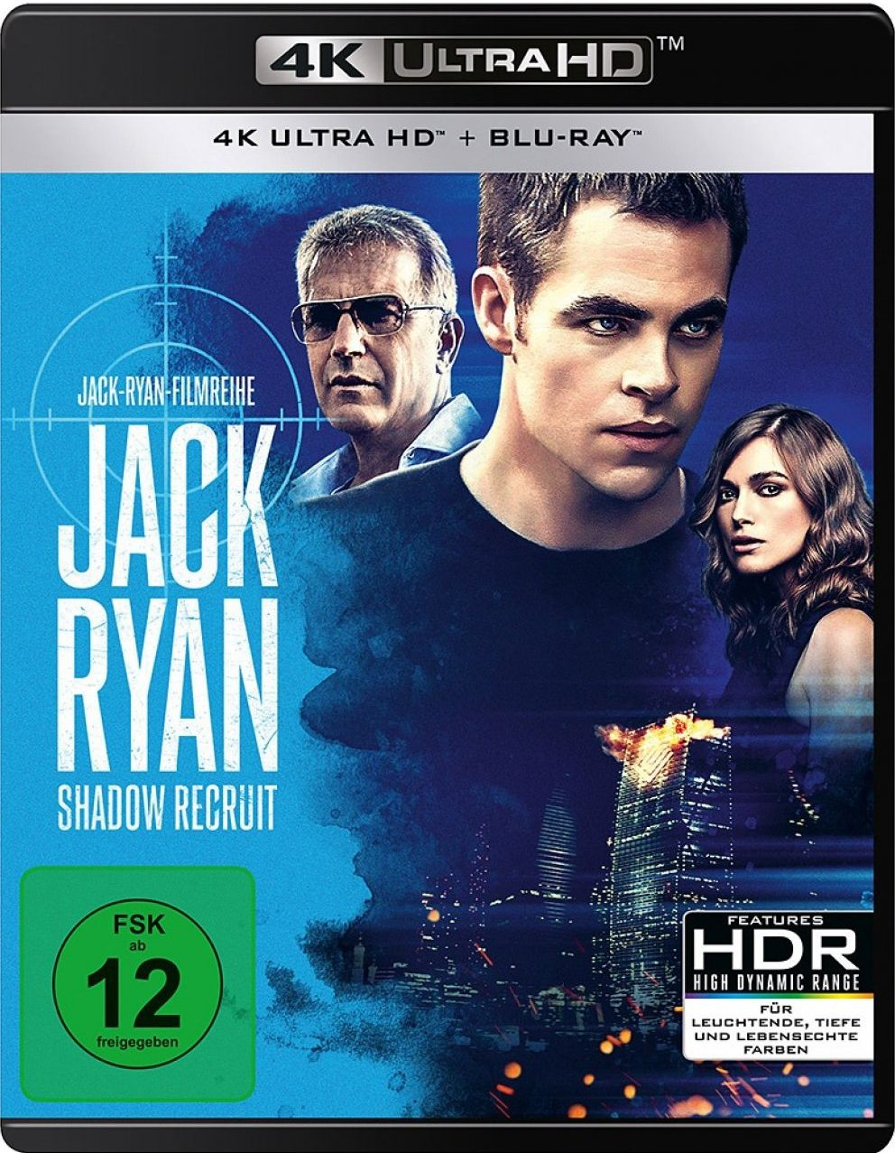 Jack Ryan: Shadow Recruit (2 Discs) (UHD BLURAY + BLURAY)