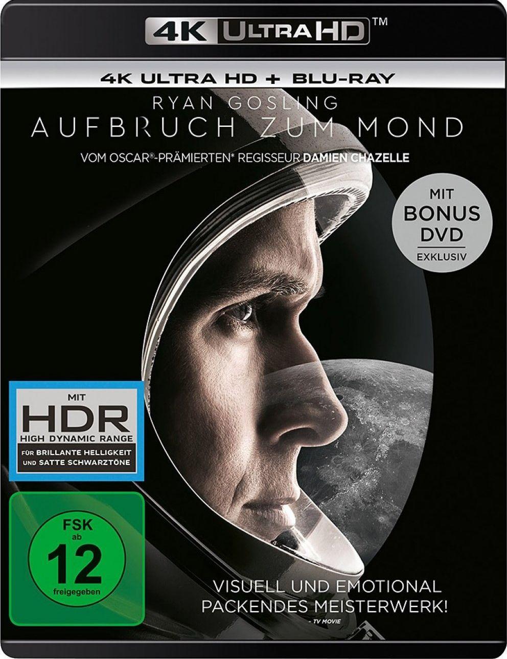 Aufbruch zum Mond (3 Discs) (UHD BLURAY + BLURAY)