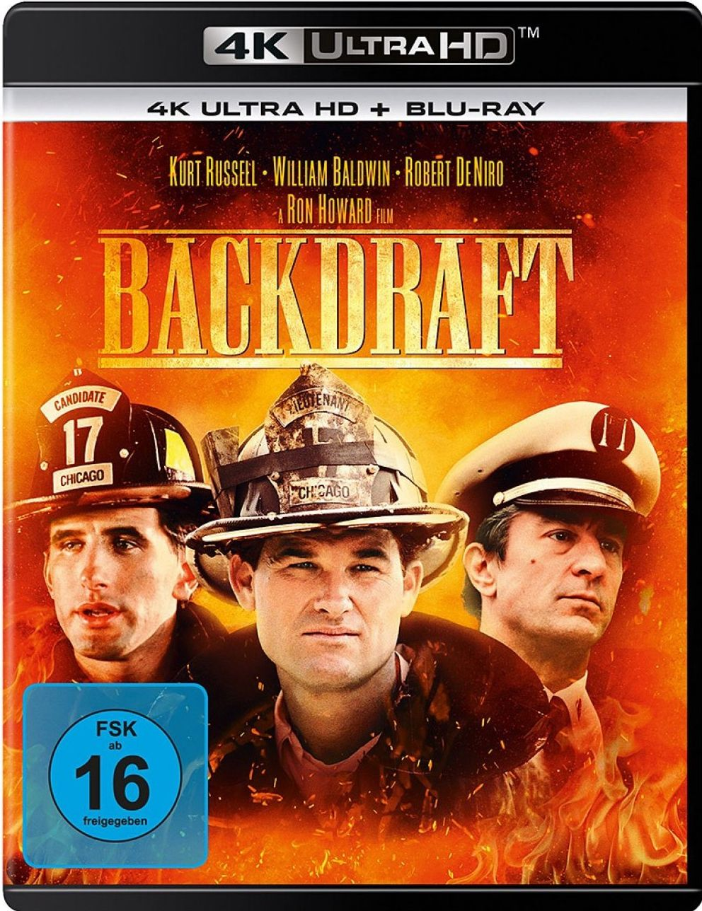 Backdraft (2 Discs) (UHD BLURAY + BLURAY)