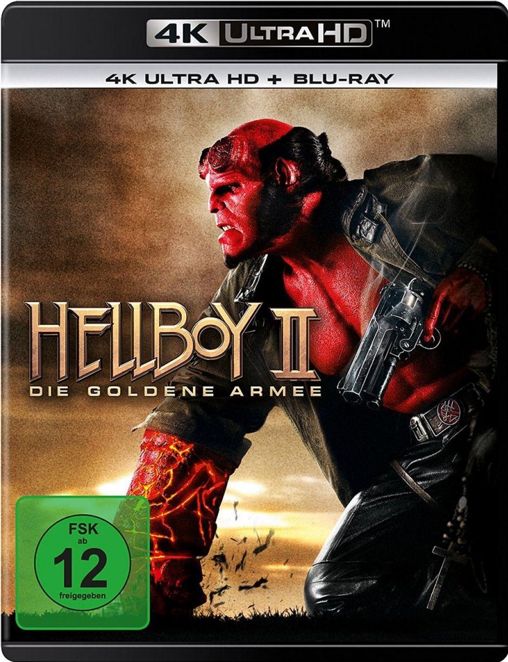 Hellboy 2: Die goldene Armee (2 Discs) (UHD BLURAY + BLURAY)