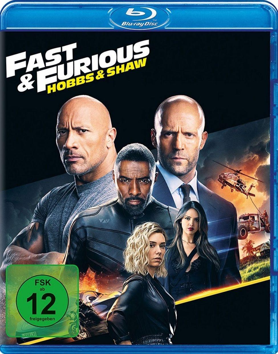 Fast & Furious - Hobbs & Shaw (BLURAY)