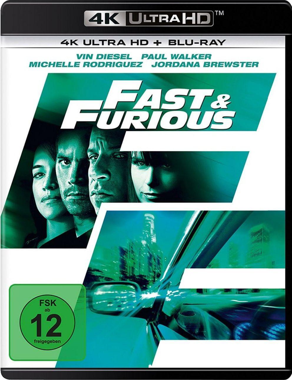 Fast & Furious - Neues Modell. Originalteile. (2 Discs) (UHD BLURAY + BLURAY)