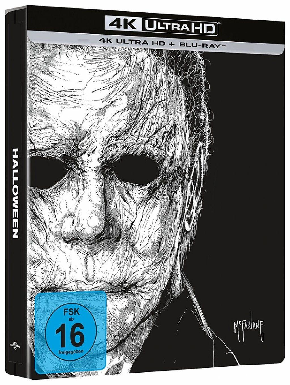 Halloween (2018) (Lim. Steelbook) (2 Discs) (UHD BLURAY + BLURAY)