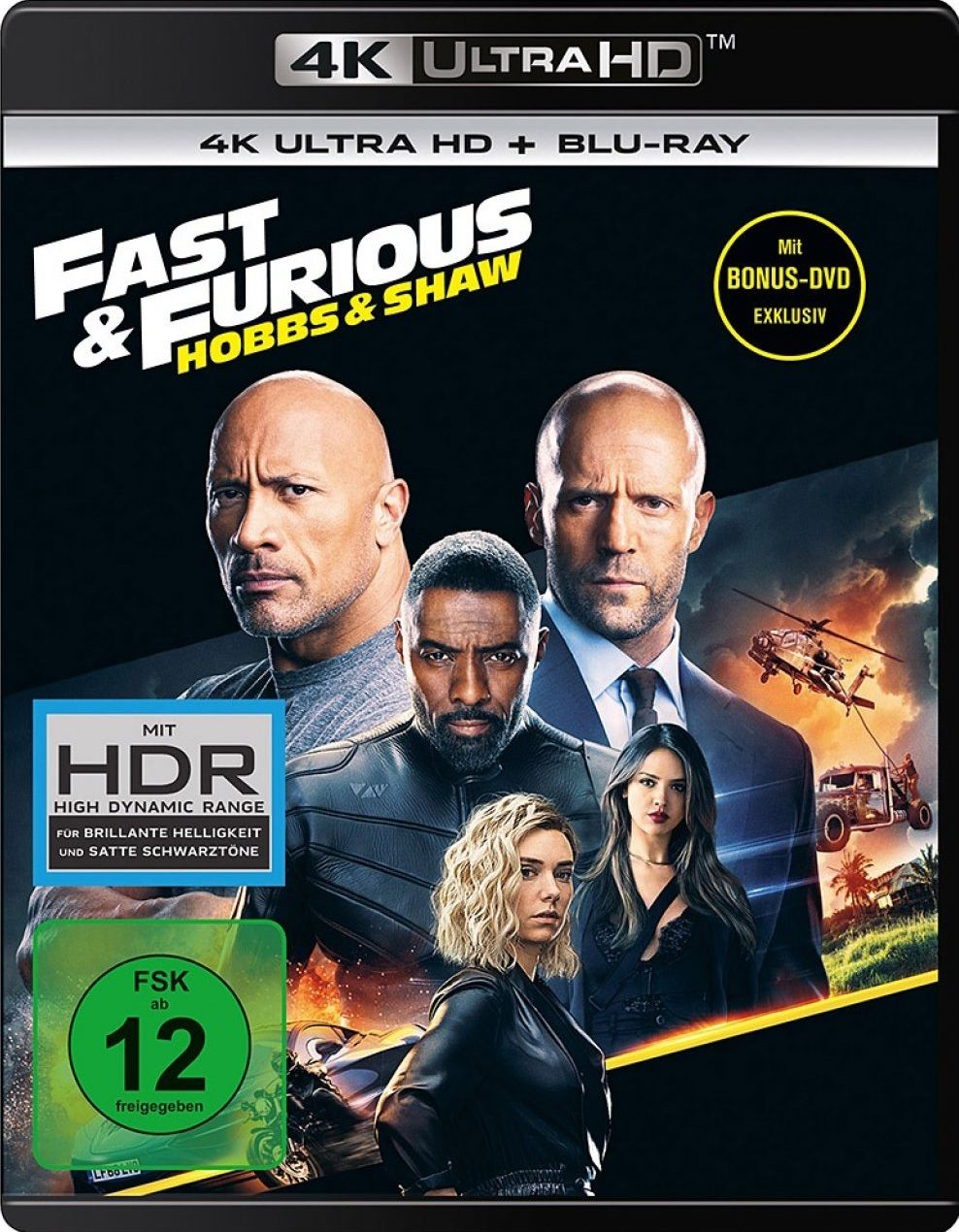 Fast & Furious - Hobbs & Shaw (3 Discs) (UHD BLURAY + BLURAY)