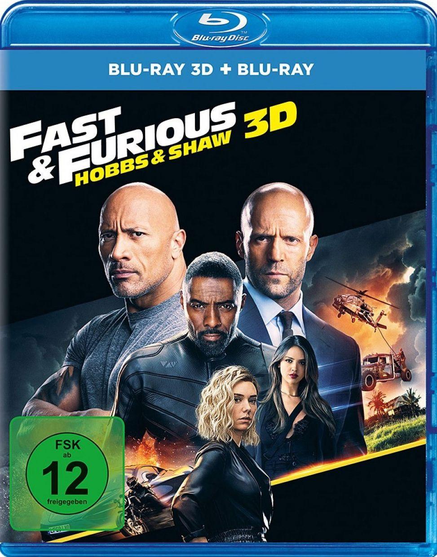 Fast & Furious - Hobbs & Shaw (2 Discs) (BLURAY 3D + BLURAY)