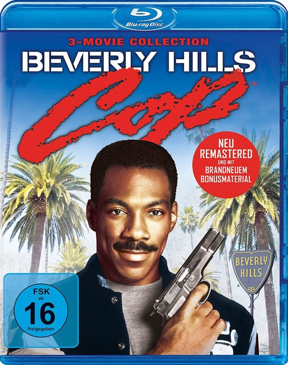 Beverly Hills Cop 1 - 3 Collection (Digital Remastered) (3 Discs) (BLURAY)