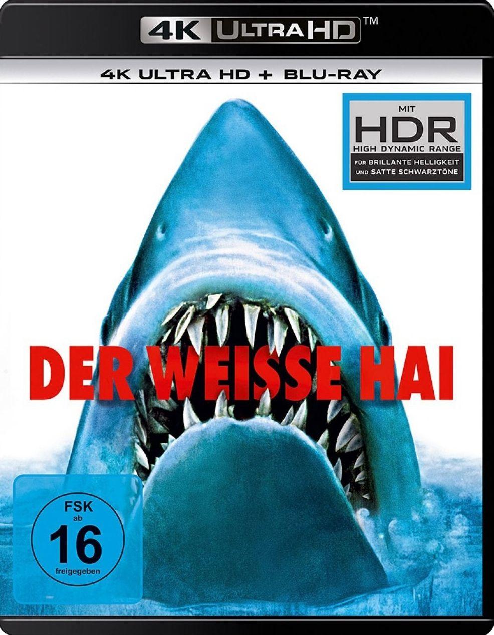 Weiße Hai, Der (2 Discs) (UHD BLURAY + BLURAY)