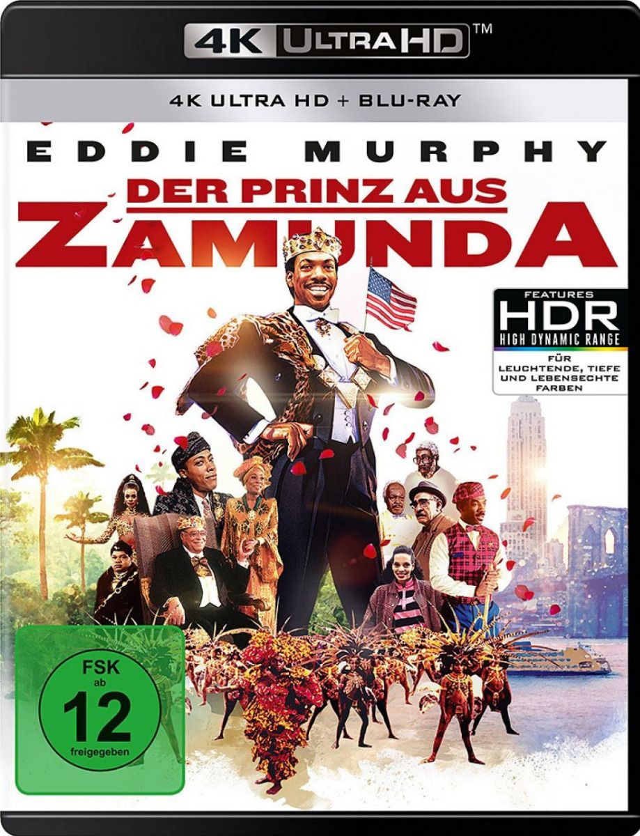 Prinz aus Zamunda, Der (2 Discs) (UHD BLURAY + BLURAY)